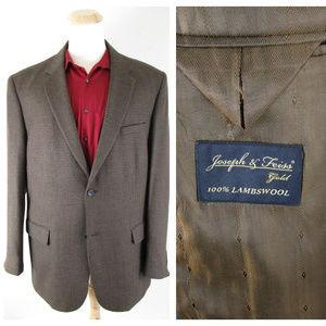 Joseph & Feiss Lambswool Houndstooth Sport Coat